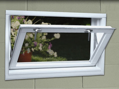 basement hopper windows a basement hopper window opens inward from